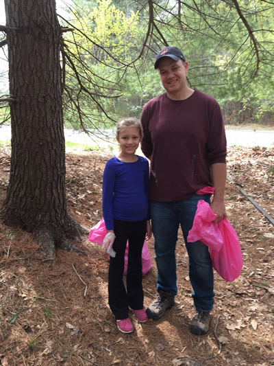 Earth day clean up 2017
